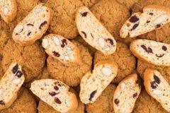 Texture et x28 ; background& x29 ; du biscuit dans le studio Images stock