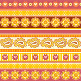 Texture with ethnic ornaments Stock Photo