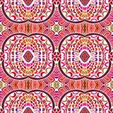 Texture ethnique tirée par la main sans couture Images libres de droits