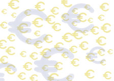 Texture euro Royalty Free Stock Images