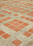Texture of exposed cement floor tiled Stock Photos