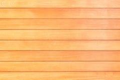 Texture extérieure en bois brun clair de fond, vue supérieure de table images libres de droits