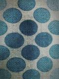 Texture fabric. Blue dot fabric texture Stock Image