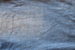 Texture of fabric blue jeans textile Royalty Free Stock Images