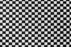 Texture of fabric in a chess cage Royalty Free Stock Photo