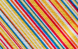 Texture of fabric with colorful pattern diagonal  line. Texture of fabric with colorful pattern diagonal line.  Microfiber Stock Photo