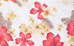 Texture of fabric in flowers pattern Stock Photo