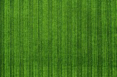 Texture fabric of green color. Royalty Free Stock Photos