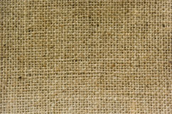 Texture fabric. Grunge close-up framed burlap background Royalty Free Stock Photos
