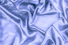 texture, Fabric made of silk fabric, metal thread. metallic shee royalty free stock images