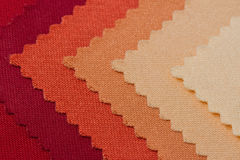 Texture of fabric sample Royalty Free Stock Photography