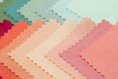 Texture of fabric sample Stock Photography