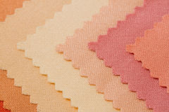 Texture of fabric sample Royalty Free Stock Images