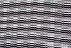 texture fabric silver with square cells. Stock Photos
