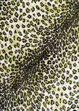 The texture of fabric the striped leopard. For background Royalty Free Stock Images