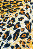 Texture of fabric stripes leopard Stock Photography