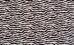 Texture of fabric stripes zebra Royalty Free Stock Photography