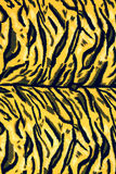 Texture fabric of tiger. For background royalty free stock image