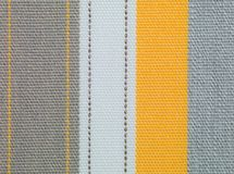 Texture fabric vertical lines multicolor Stock Photography