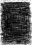 Texture fabriquée à la main de graphite et de crayon Photos libres de droits