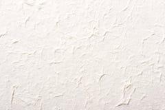 Texture fabriquée à la main de papier de riz Images stock