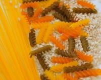 Texture faite de pâtes italiennes Image stock
