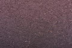 Texture faite main grise de papier de mûre Photographie stock