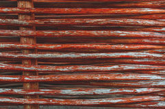 Texture of fence of woven willow twigs for background Royalty Free Stock Photos
