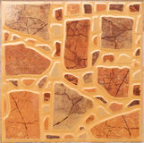Texture of fine brown parquet Stock Images