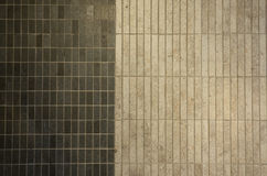 Texture of fine ceramic tiles. Two tone of ceramic tile Royalty Free Stock Photo