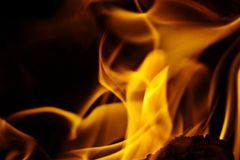 Texture of fire Royalty Free Stock Images