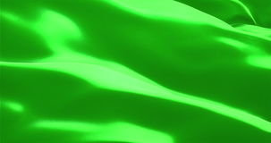 Texture of the flag with chroma key green screen color background