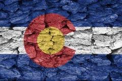 Flag of Colorado vector illustration