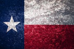 Texture of Texas flag. stock photography