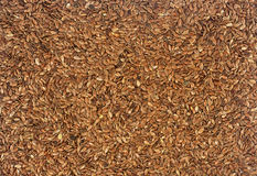 A texture from a flax seeds Royalty Free Stock Photo