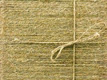 Texture from flax threads Royalty Free Stock Image