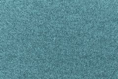 Texture of fleece fabric blue green color Stock Photography