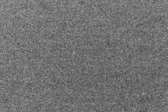 Texture of fleece fabric gray color Royalty Free Stock Photo