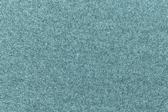 Texture of fleece fabric pale blue green color Stock Images