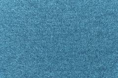 Texture of fleece fabric turquoise azure color Royalty Free Stock Images