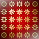 Texture with Floral Ornaments Stock Photography