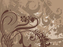 Texture with floral pattern Royalty Free Stock Images