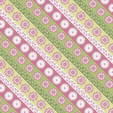 Texture with floral pattern. Texture with floral in happy colors stock illustration