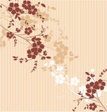 Texture florale Image stock