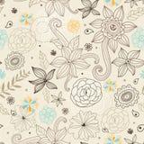 Texture florale décorative Photos libres de droits