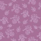 Texture florale pourprée Image libre de droits