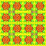 Texture flower hawaiian shirt Royalty Free Stock Image