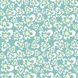 Texture flowers. A flowers fabric material illustration Vector Illustration