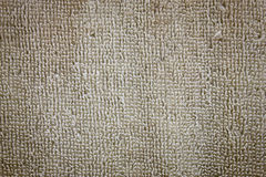 Texture of fluffy cotton towels brown Royalty Free Stock Photo