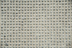 Texture fluted concrete Royalty Free Stock Image